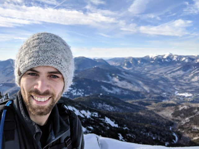 Giant Mountain Summit Selfie