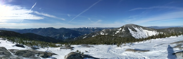 Panoramic view from Rocky Peak Ridge.